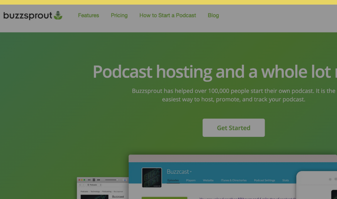 Podcast Hoster Buzzsprout
