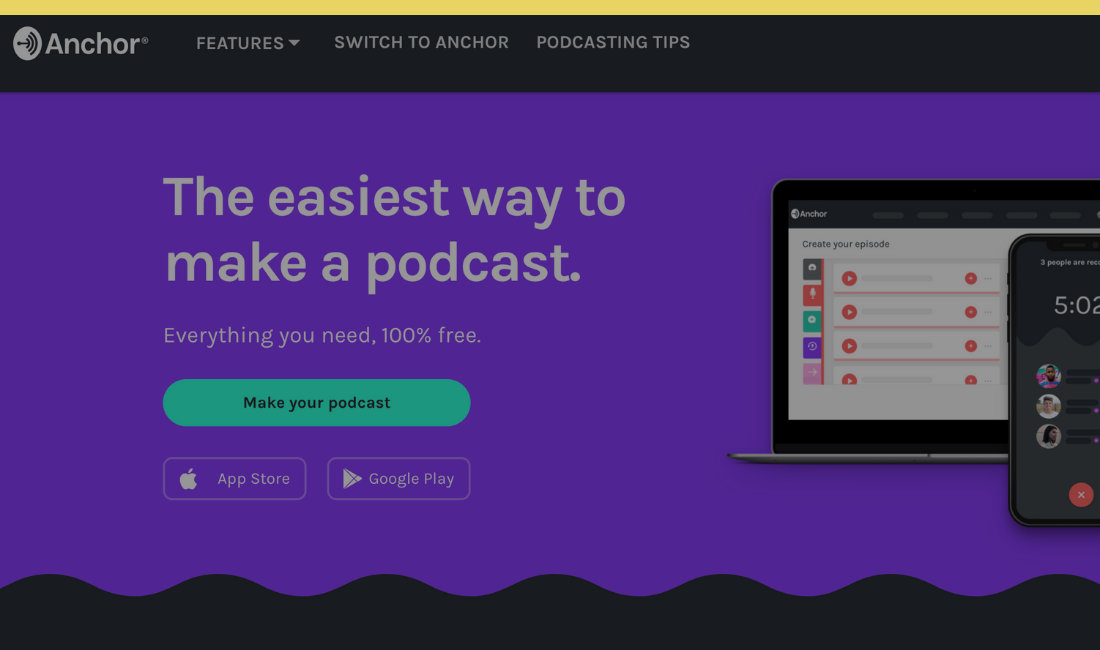 Podcast Hoster Anchor
