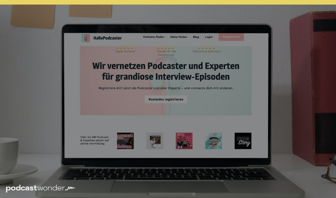 PODCAST AUFNEHMEN - INTERVIEW GÄSTE FINDEN