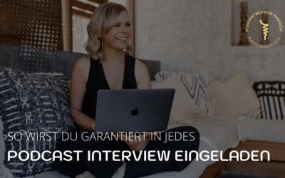So wirst du als Expert*In garantiert in jedes Podcast Interview eingeladen