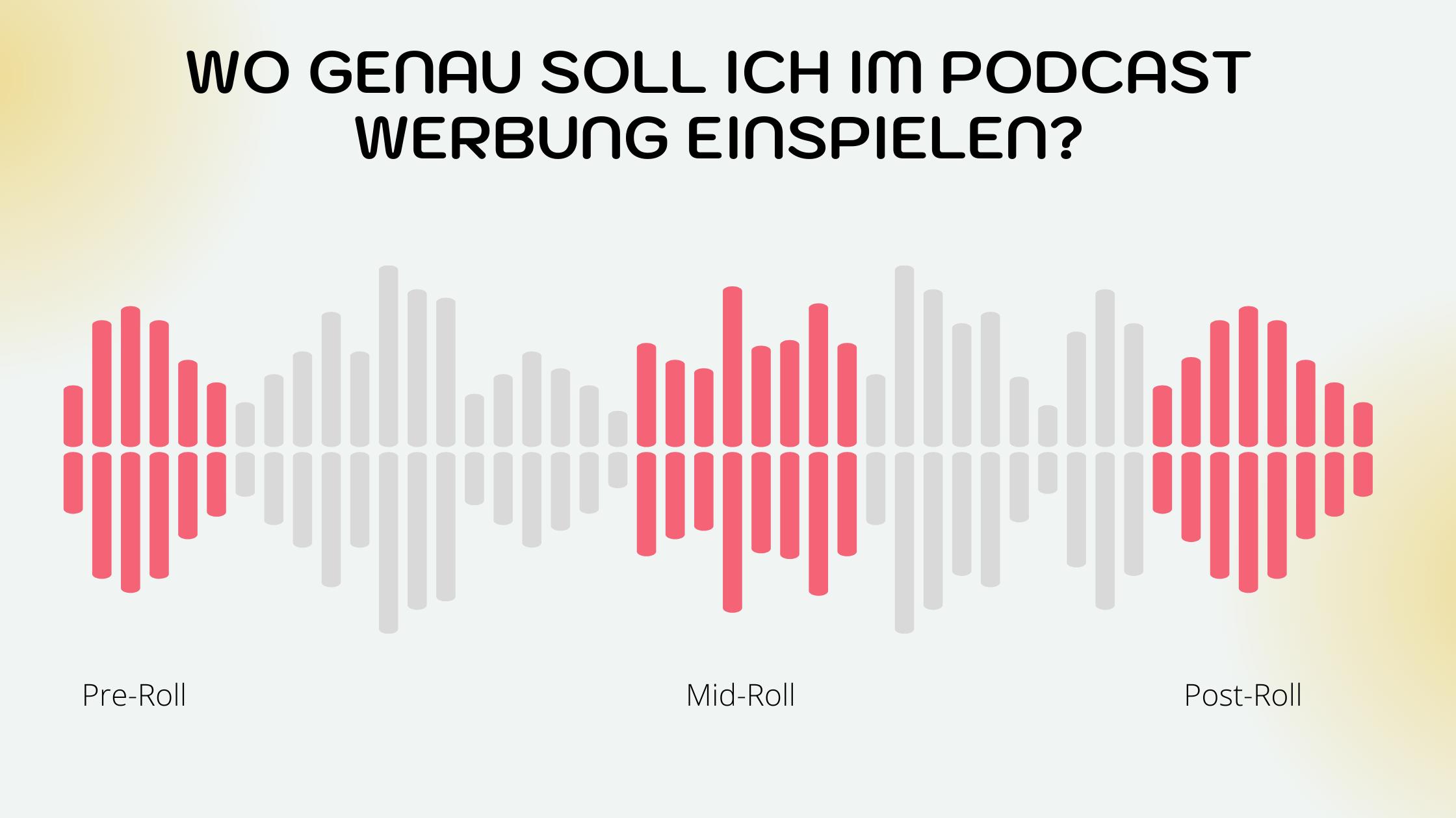 Podcast Werbung